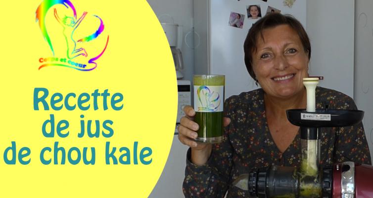 recette jus de chou kale