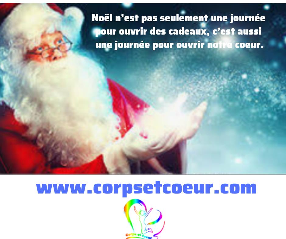 Noël ouvrir son coeur